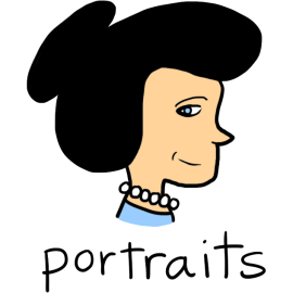 portraits-hover