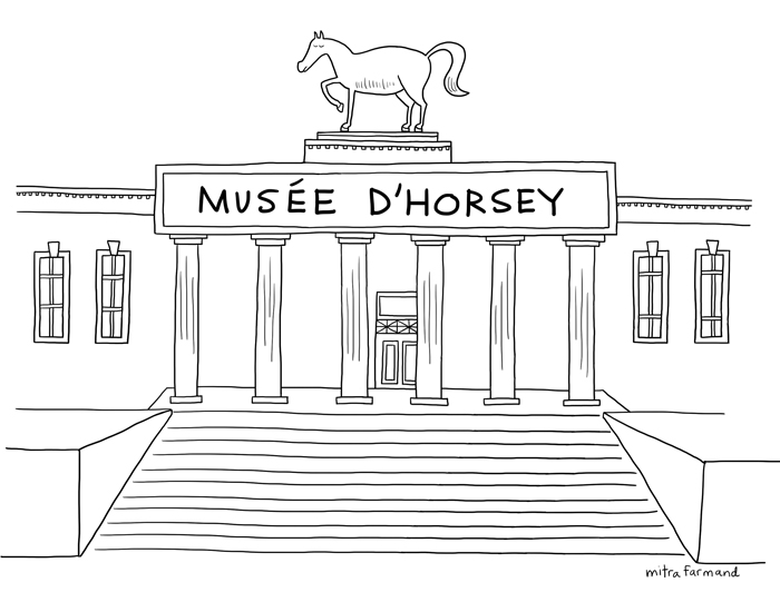 Musee d'Horsey.
