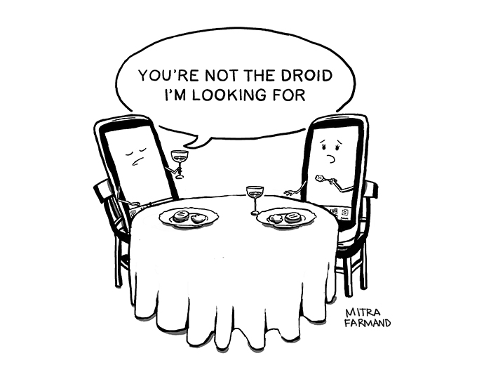You're not the Droid I'm looking for.